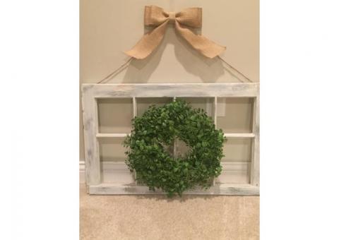 Small farmhouse frame