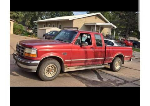 1993 ford f 150 2wd