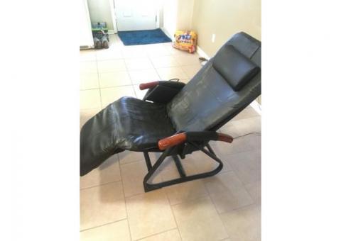 DeStress leather massage chair