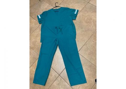 Meridian Community College ADN student nurse scrubs/lab bag