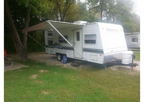 2004 Forest River Wildwood 24 Foot Travel Trailer for Sale