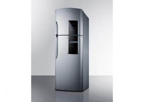 Stainless Look Summit Refrigerator