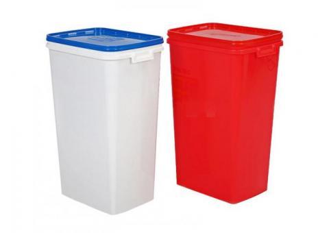 Plastic Pet Food Container 53L