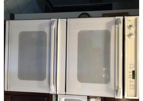 GE double wall oven