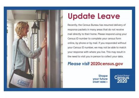 Stanton County! The 2020 Census Has Resumed!