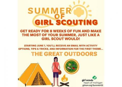 Free Event - Summer of Girl Scouting