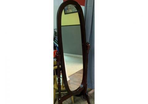 Darkwood Standing Mirror