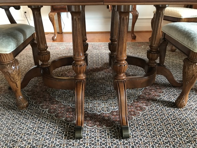 Hardwood Dining Room Table And Buffet In Oldham County Kentucky